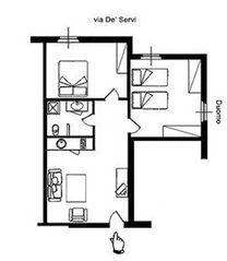 Historic Center apartment photo - Flora's map