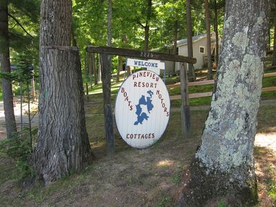 Traverse City cottage rental - Sign once in the resort