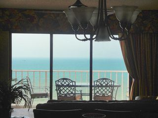 Indian Rocks Beach condo photo - View from inside condo - showing gorgeous direct Gulf view