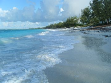 Great Exuma villa rental - your beach at the Villa