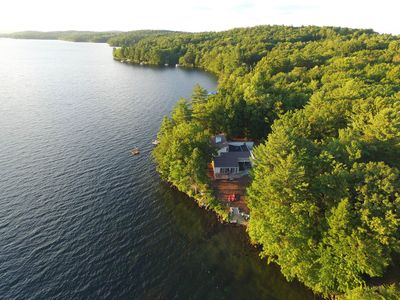 Private Winnisquam Waterfront Home With Sunset Views