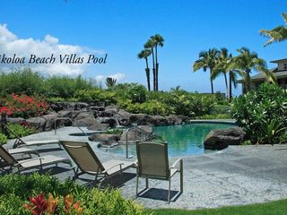 Waikoloa Beach Resort townhome photo - One of two pools less than a minute walk from our front door.