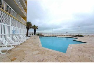 One of two pools overlooking the ocean - Folly Beach condo vacation rental photo