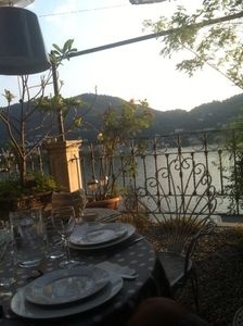 Cozy attic in Como with beautiful terrace, great view on the lake