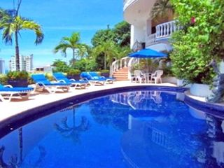 Acapulco villa photo - Sunrise Pool - Enjoy Tropical Beauty and Shade