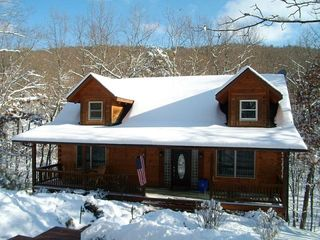 Massanutten house photo - Wintertime at Antlers Crossing!