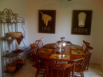 Palm Desert townhome rental - Dinning Area