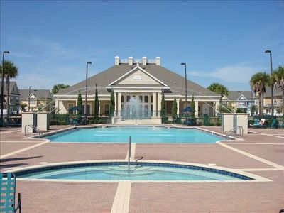Heated Pool, hot tub and clubhouse