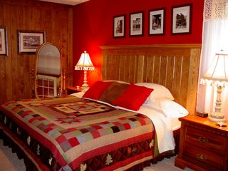 Lake Pepin house photo - Bedroom # 3 is has a king size bed and is also located on the lower level.