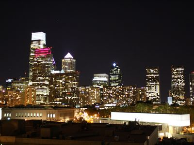 Philadelphia condo rental - City Skyline at Night