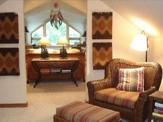 Bozeman house photo - Retire to one of the two master suites with a queen bed and private bath.
