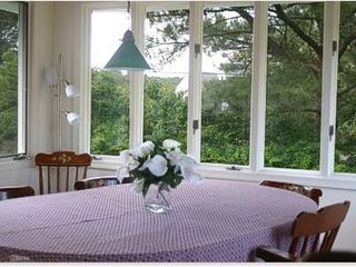 Chincoteague Island house photo - Full dining room in waterfront rental near OC MD