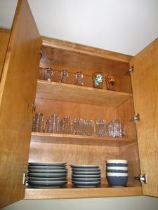 Austin house rental - Dinnerware provided