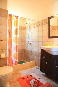 Paxi (Paxos) villa rental - Bathroom (maid service included)