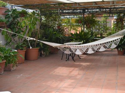 Roof garden apartment near Bagheria 1km from the beach and 200mt from the trains