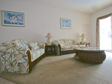 Spacious, comfortable and welcoming family room
