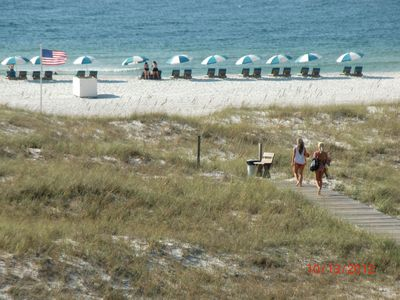 Orange Beach condo rental - beach right in front