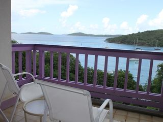 Cruz Bay condo photo - Enjoy the view from your private balcony.