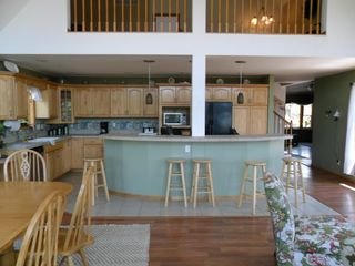 Brethren house photo - Fully equipped kitchen, under an open loft