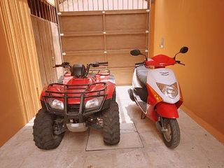 San Miguel de Allende villa photo - Your ATV and Scooter await in your private garage!