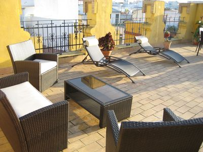 Seville apartment rental - Roof terrace