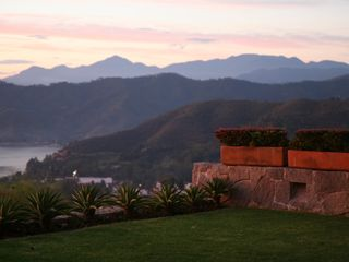 Valle de Bravo villa photo - Upper terrace