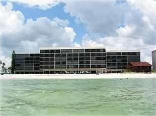 View of Surf Side South Condominium from the Beach