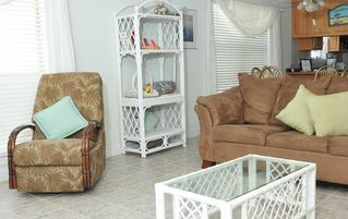 Gulf Shores house photo - Warm and inviting interior.