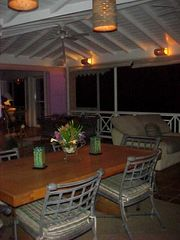 Tortola villa photo - Dining Veranda