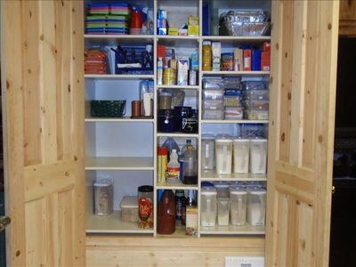 Kitchen Pantry: Staples stocked--Whispering Pines