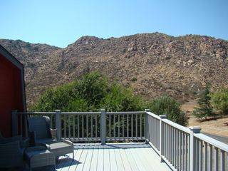 View from Master Suite - Temecula house vacation rental photo