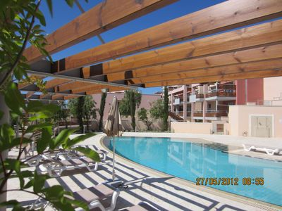 Delightful Apartment 100m from Beach, swimming pool, WiFi, Limassol