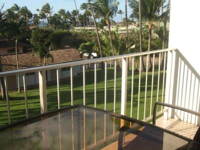 Kuau condo rental - Ocean view from Lanai