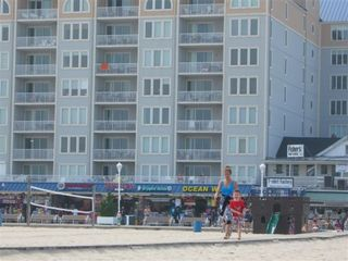 Belmont Towers Ocean City condo photo - Belmont Towers, Ramp to Beach & Handicap Area