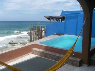 pool on main level - Isla Mujeres house vacation rental photo
