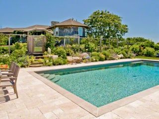 Gayhead - Aquinnah house photo - Hilltop House With Water Views And Pool