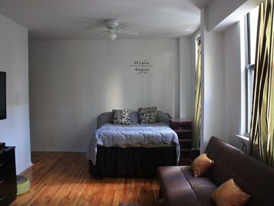 Upper East Side apartment rental - Double bed sleeps 2 comfortably!