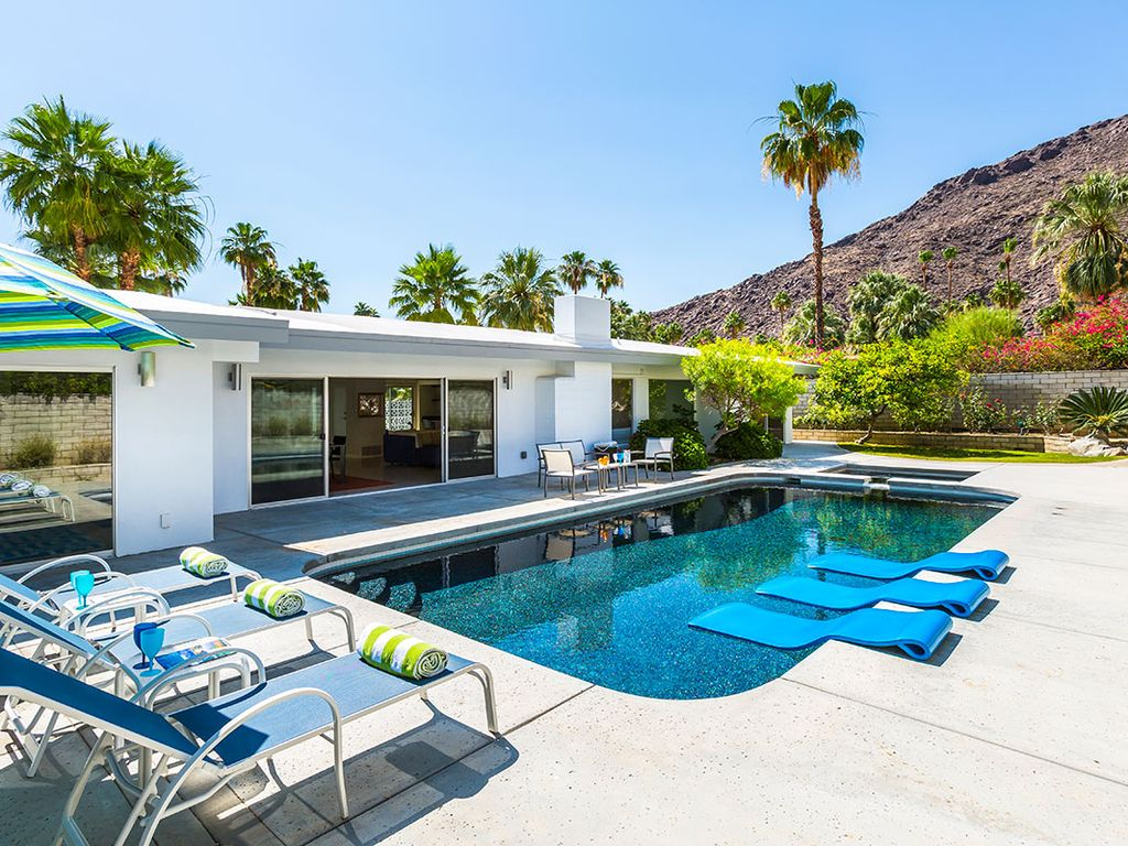 Palm Springs Home With Heated Swimming Homeaway Vista Las Palmas