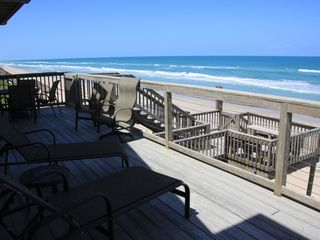 New Smyrna Beach house photo - View of decks