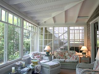 Nantucket Town house photo - Rear Screened Porch