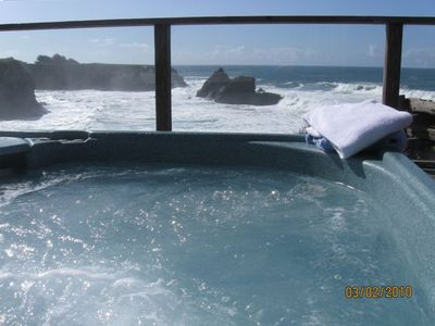 Oceanfront Private Hot Tub