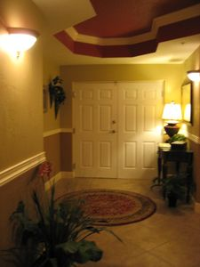 Double Door Entry Welcomes You to  Your Home Away From Home.
