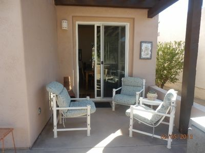 Borrego Springs house rental - Patio outside dining room