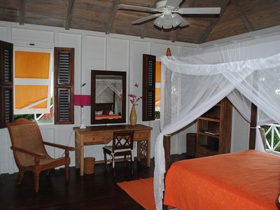 Gingerland villa rental - Bedroom Three