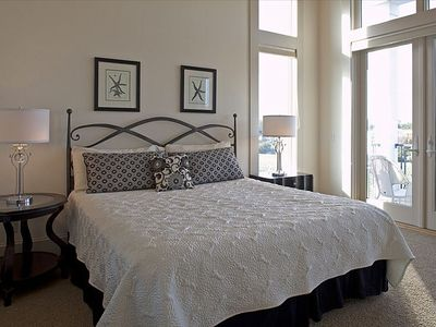 GUEST BEDROOM with King Bed and Private Bath