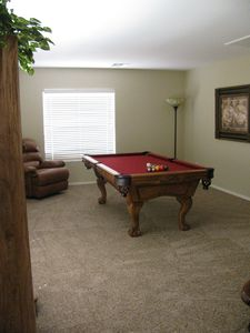 Pool table in upstairs loft for your enjoyment