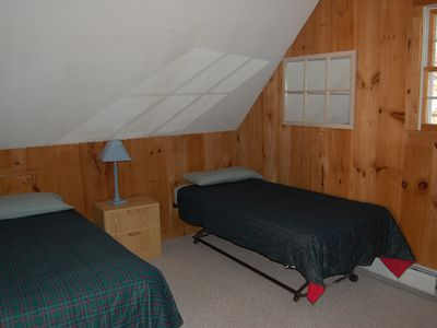 Mount Snow house rental - Upper Level Bedroom II (4 Twin Beds)
