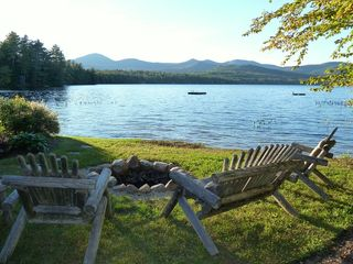 Fryeburg cottage photo - Enjoy an outdoor fire on a chilly summer or fall evening.