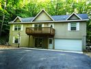 house from street - Bellaire / Shanty Creek chalet vacation rental photo
