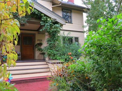 Welcome to historic Irvington with many beautiful Craftsman homes.